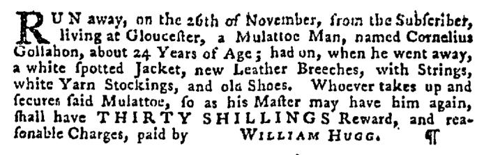 Dec 17 - Pennsylvania Gazette Supplement Slavery 3
