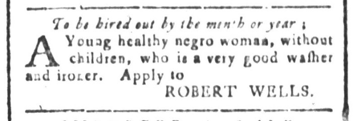 Dec 18 - South-Carolina and American General Gazette Slavery 5