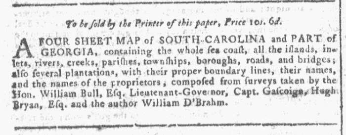 Dec 2 - 12:2:1767 Georgia Gazette