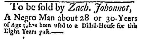 Dec 21 - Boston Evening-Post Slavery 4