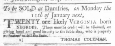 Dec 24 - Virginia Gazette P&D Slavery 3