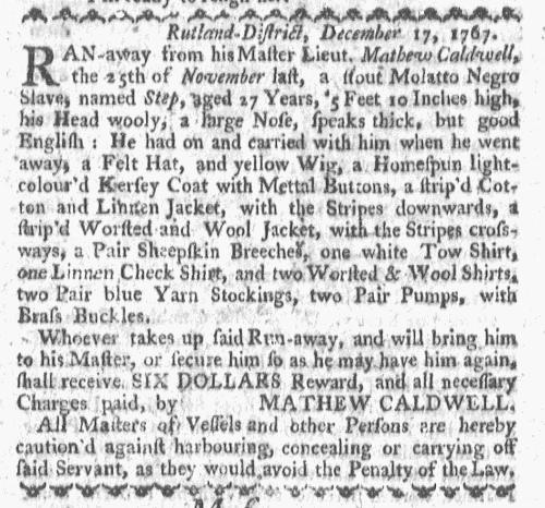 Dec 28 - Boston-Gazette Slavery 1