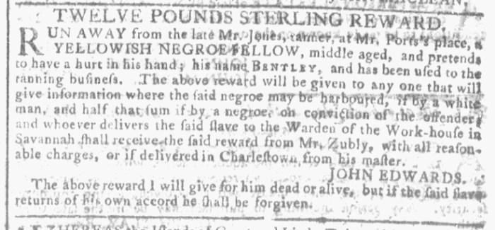 Dec 30 - Georgia Gazette Slavery 5