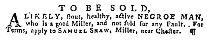 Dec 31 - Pennsylvania Gazette Supplement Slavery 4