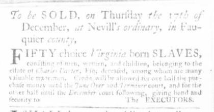 Nov 26 - Virginia Gazette Slavery 5