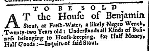 Nov 30 - New-York Gazette Slavery 4