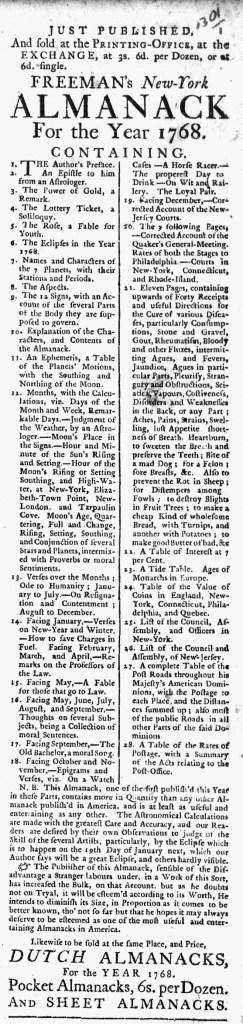 Dec 10 - 12:10:1767 New-York Journal