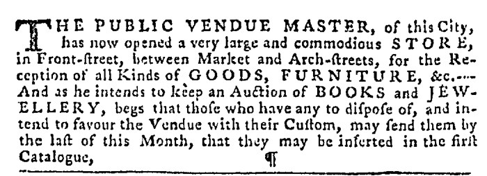 Dec 17 - 12:17:1767 Pennsylvania Gazette