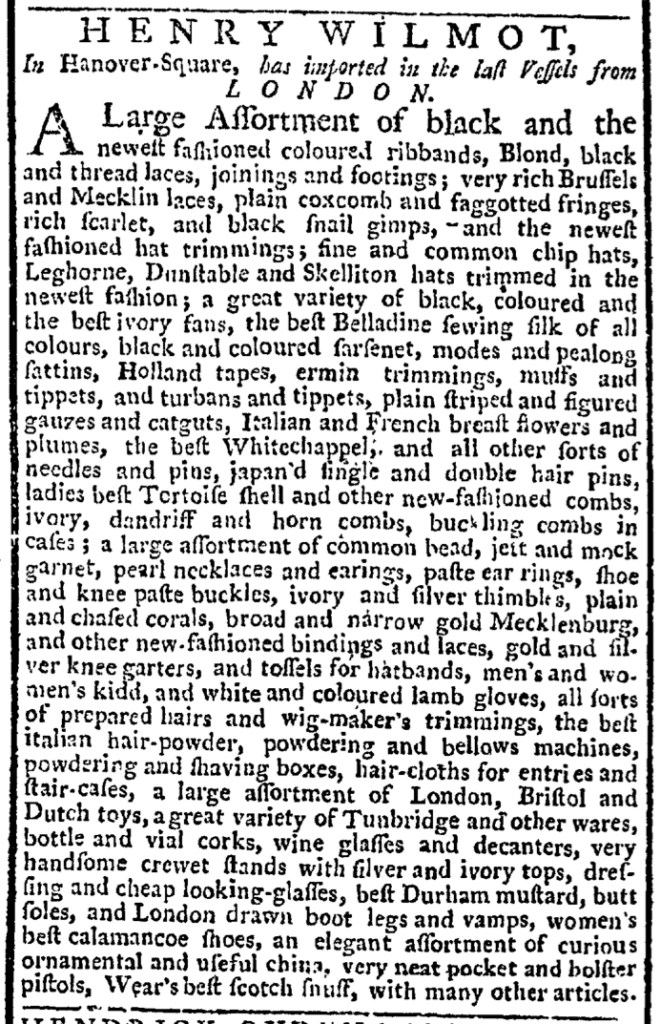 Dec 24 - 12:24:1767 New-York Gazette Weekly Post-Boy