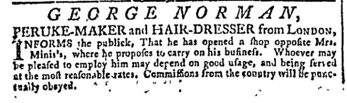 Dec 30 - 12:30:1767 Georgia Gazette