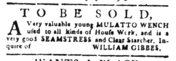 Feb 1 - South Carolina Gazette Slavery 3