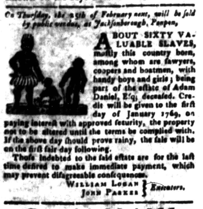 Feb 1 - South Carolina Gazette Slavery 9