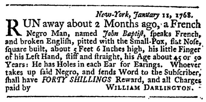 Feb 4 - New-York Gazette Weekly Post-Boy Extraordinary Slavery 2