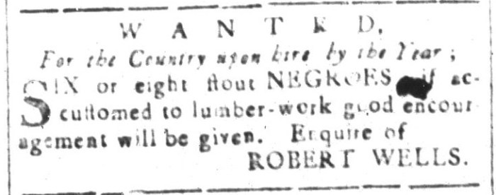 Feb 5 - South-Carolina and American General Gazette Slavery 11