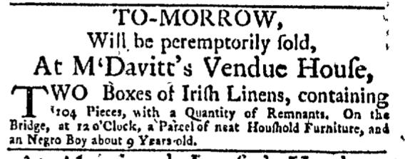 Jan 11 - New-York Mercury Slavery 1