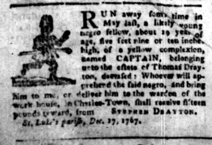 Jan 18 - South Carolina Gazette Slavery 6
