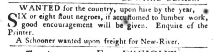 Jan 19 - South-Carolina Gazette and Country Journal Slavery 15