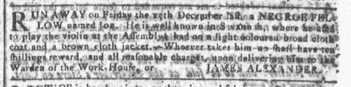 Jan 20 - Georgia Gazette Slavery 9