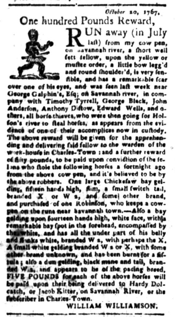 Jan 25 - South Carolina Gazette Slavery 8