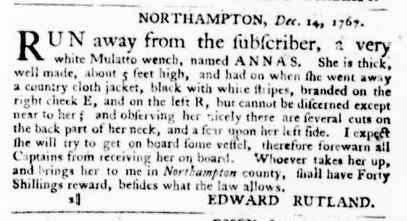 Jan 28 - Virginia Gazette Purdie and Dixon Slavery 2