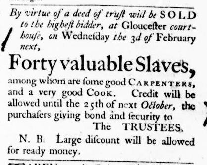 Jan 28 - Virginia Gazette Purdie and Dixon Slavery 4