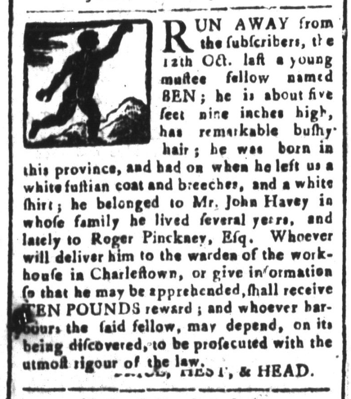 Jan 29 - South-Carolina and American General Gazette Slavery 10