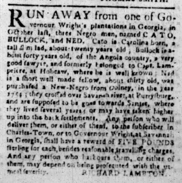 Feb 15 - South Carolina Gazette Slavery 3