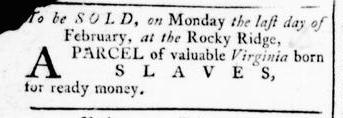 Feb 18 - Virginia Gazette Rind Slavery 4