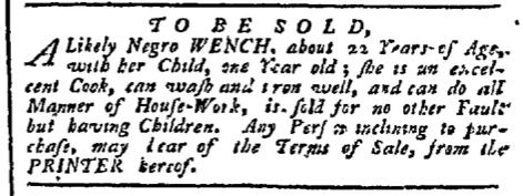 Feb 22 - Pennsylvania Chronicle Slavery 1