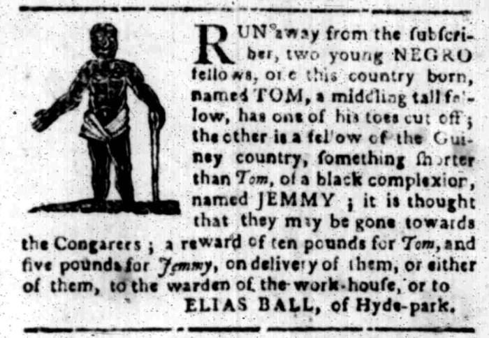 Feb 22 - South Carolina Gazette Slavery 3