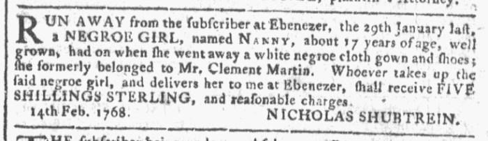 Feb 24 - Georgia Gazette Slavery 3