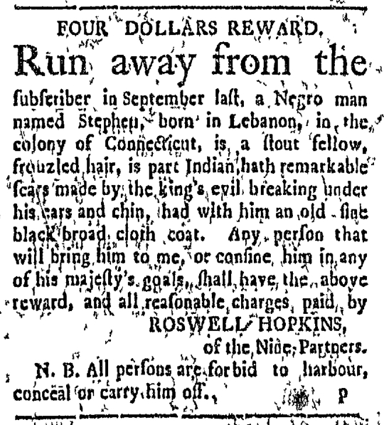 Feb 29 - Connecticut Courant Slavery 1
