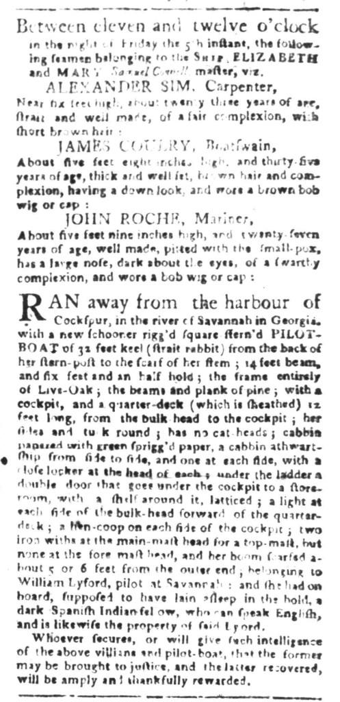 Feb 29 - South Carolina Gazette Slavery 9