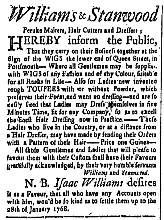 Feb 5 - 2:5:1768 New-Hampshire Gazette
