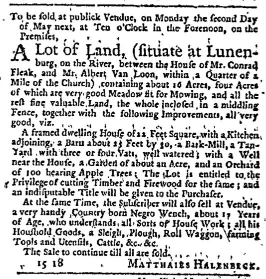 Apr 9 - New-York Journal Supplement Slavery 1