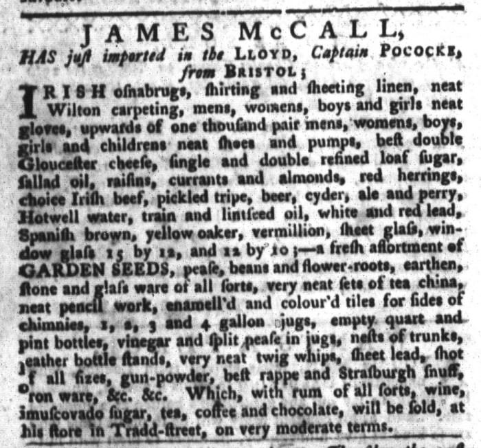 Mar 15 - 3:15:1768 South-Carolina Gazette and Country Journal