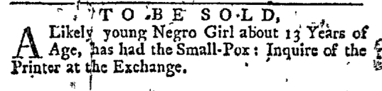 Mar 26 - New-York Journal Supplement Slavery 1
