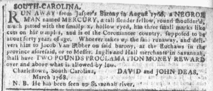 Mar 30 - Georgia Gazette Slavery 5