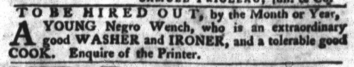 Apr 12 - South-Carolina Gazette and Country Journal Slavery 6
