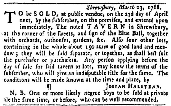 Apr 14 - Pennsylvania Gazette Slavery 6