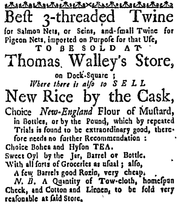 Apr 21 - 4:21:1768 Massachusetts Gazette