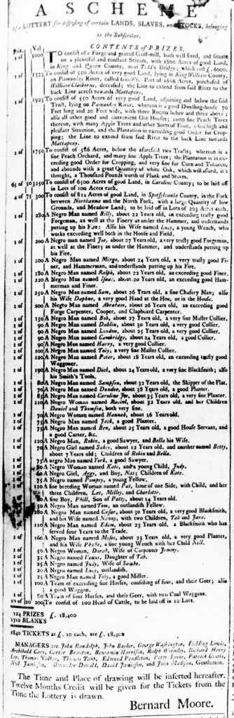 Apr 21 - Virginia Gazette Rind Slavery 1