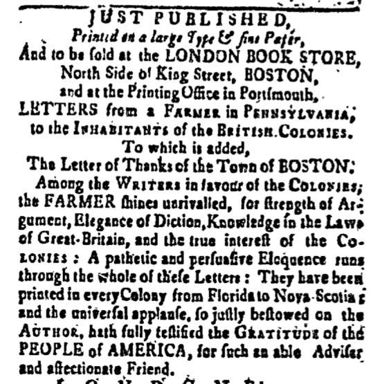 Apr 22 - 4:22:1768 New-Hampshire Gazette