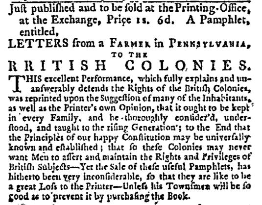 Apr 22 - 4:22:1768 New-York Journal