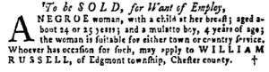 May 5 - Pennsylvania Gazette Supplement Slavery 5