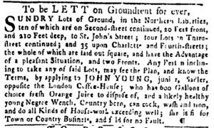 May 19 - Pennsylvania Gazette Slavery 1