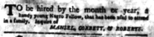 May 23 - South Carolina Gazette Postscript Slavery 1