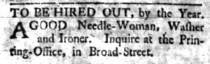May 23 - South Carolina Gazette Postsctipt Slavery 2