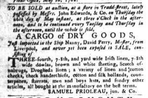 May 24 - 5:24:1768 South-Carolina Gazette and Country Journal