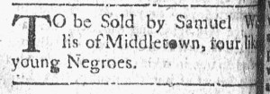 May 30 - Connecticut Courant Slavery 1